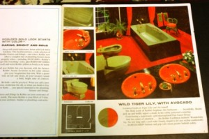 Tiger Lily Retro Bathroom by Kohler
