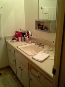 Before photo of Master Bath
