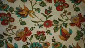Tea Towel with Floral Pattern from Cost Plus World Market